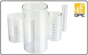 Cylinders, Glass Discs and Sight Glasses